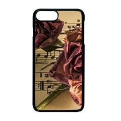 Sheet Music Manuscript Old Time Apple Iphone 8 Plus Seamless Case (black)