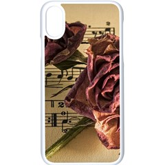 Sheet Music Manuscript Old Time Apple Iphone X Seamless Case (white)