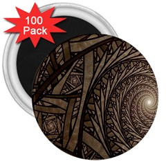 Abstract Pattern Graphics 3  Magnets (100 Pack)