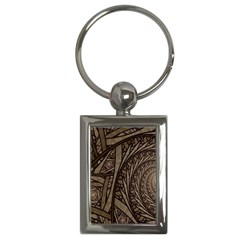 Abstract Pattern Graphics Key Chains (rectangle)