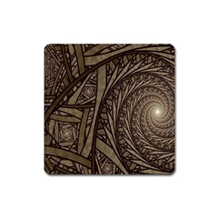 Abstract Pattern Graphics Square Magnet