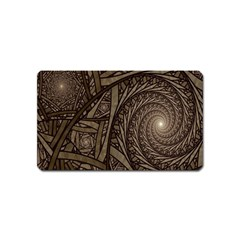 Abstract Pattern Graphics Magnet (name Card)
