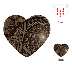 Abstract Pattern Graphics Playing Cards (heart)