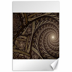 Abstract Pattern Graphics Canvas 24  X 36