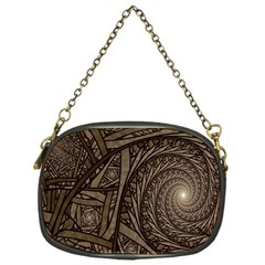 Abstract Pattern Graphics Chain Purses (one Side)