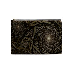 Abstract Pattern Graphics Cosmetic Bag (medium)