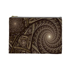 Abstract Pattern Graphics Cosmetic Bag (large)