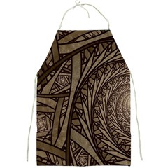 Abstract Pattern Graphics Full Print Aprons