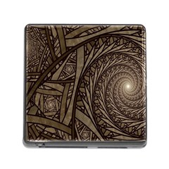 Abstract Pattern Graphics Memory Card Reader (square)