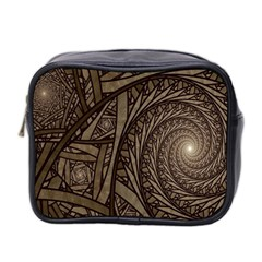 Abstract Pattern Graphics Mini Toiletries Bag 2 Side