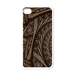 Abstract Pattern Graphics Apple Iphone 4 Case (white)