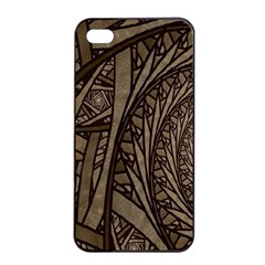 Abstract Pattern Graphics Apple Iphone 4/4s Seamless Case (black)
