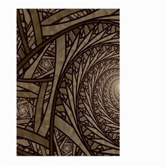 Abstract Pattern Graphics Large Garden Flag (two Sides)