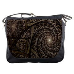 Abstract Pattern Graphics Messenger Bags