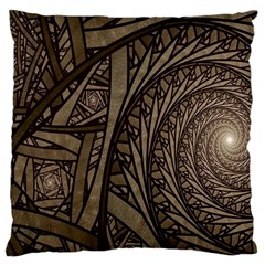 Abstract Pattern Graphics Large Cushion Case (two Sides)