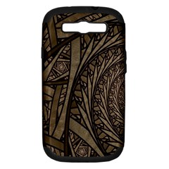 Abstract Pattern Graphics Samsung Galaxy S Iii Hardshell Case (pc+silicone)