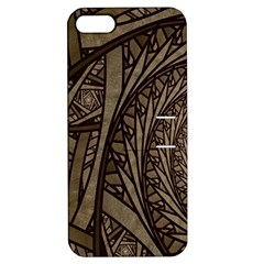 Abstract Pattern Graphics Apple Iphone 5 Hardshell Case With Stand