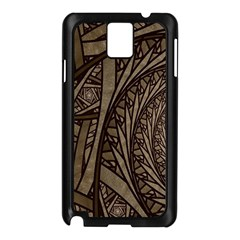 Abstract Pattern Graphics Samsung Galaxy Note 3 N9005 Case (black)