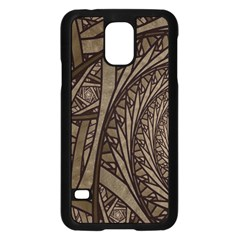 Abstract Pattern Graphics Samsung Galaxy S5 Case (black)