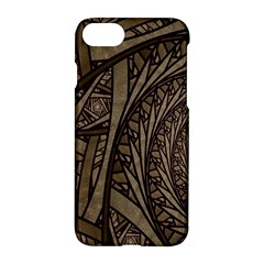 Abstract Pattern Graphics Apple Iphone 8 Hardshell Case
