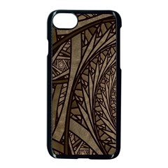 Abstract Pattern Graphics Apple Iphone 8 Seamless Case (black)