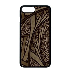 Abstract Pattern Graphics Apple Iphone 8 Plus Seamless Case (black)