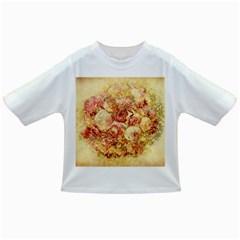 Vintage Digital Graphics Flower Infant/toddler T Shirts