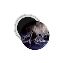 Mountains Moon Earth Space 1 75  Magnets