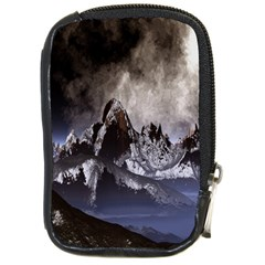 Mountains Moon Earth Space Compact Camera Cases