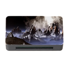 Mountains Moon Earth Space Memory Card Reader With Cf