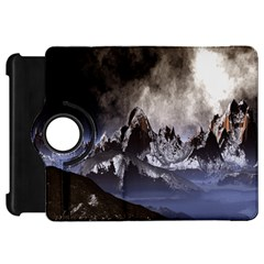 Mountains Moon Earth Space Kindle Fire Hd 7