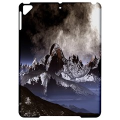 Mountains Moon Earth Space Apple Ipad Pro 9 7   Hardshell Case