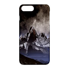 Mountains Moon Earth Space Apple Iphone 8 Plus Hardshell Case