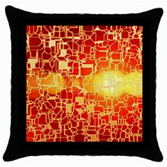 Board Conductors Circuits Throw Pillow Case (black)