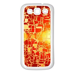 Board Conductors Circuits Samsung Galaxy S3 Back Case (white)