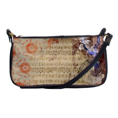 Art Collage Design Colorful Color Shoulder Clutch Bags