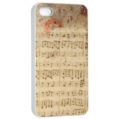 Art Collage Design Colorful Color Apple Iphone 4/4s Seamless Case (white)