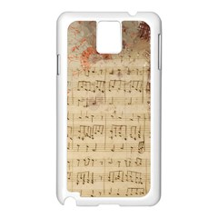 Art Collage Design Colorful Color Samsung Galaxy Note 3 N9005 Case (white)