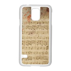 Art Collage Design Colorful Color Samsung Galaxy S5 Case (white)