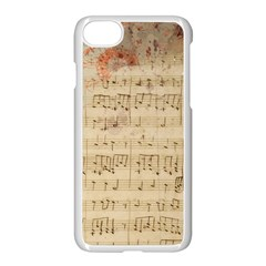 Art Collage Design Colorful Color Apple Iphone 8 Seamless Case (white)