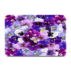 Graphic Background Pansy Easter Plate Mats