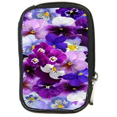 Graphic Background Pansy Easter Compact Camera Cases