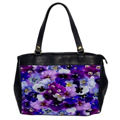 Graphic Background Pansy Easter Office Handbags