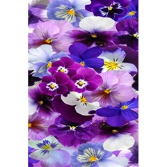 Graphic Background Pansy Easter 5 5  X 8 5  Notebooks