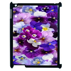 Graphic Background Pansy Easter Apple Ipad 2 Case (black)