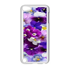 Graphic Background Pansy Easter Apple Ipod Touch 5 Case (white)