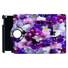 Graphic Background Pansy Easter Apple Ipad 2 Flip 360 Case