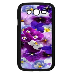 Graphic Background Pansy Easter Samsung Galaxy Grand Duos I9082 Case (black)