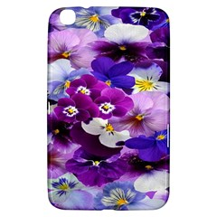 Graphic Background Pansy Easter Samsung Galaxy Tab 3 (8 ) T3100 Hardshell Case