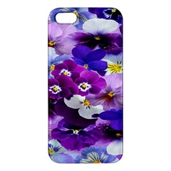 Graphic Background Pansy Easter Iphone 5s/ Se Premium Hardshell Case